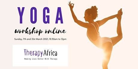 Yoga Workshop Online - Raising Funds for Therapy Africa tickets