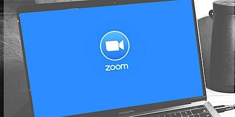 Otra aburrida presentación en Zoom. entradas