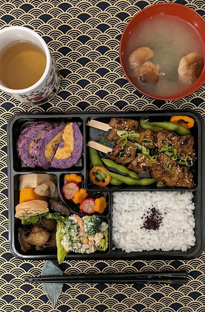 Japanese Lunchtime Bento: plant-based takeaway image