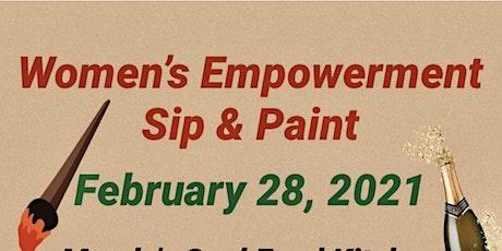 Women Empowerment SIP & PAINT tickets