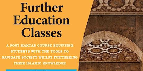 Further Maktab Education Classes tickets