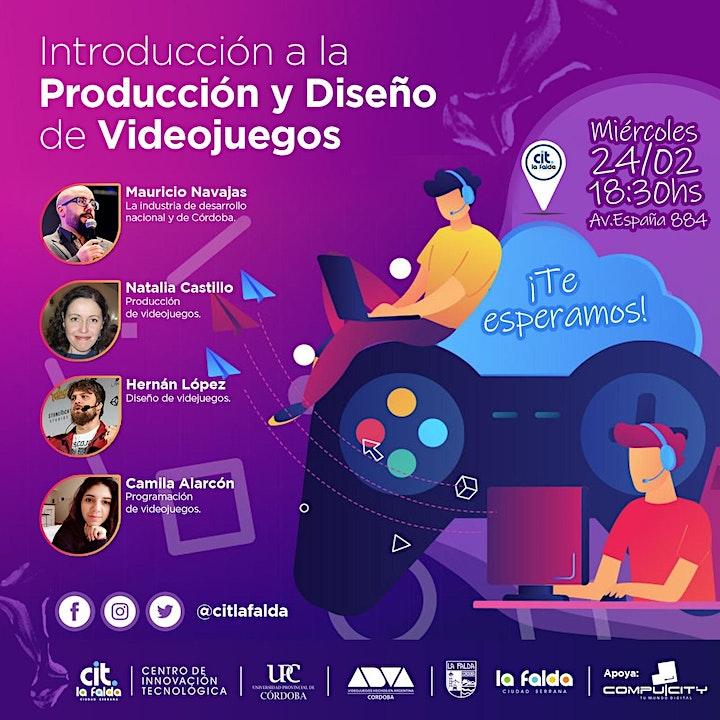 Imagen de Introducción a la Producción y Diseño de Videojuegos ( Virtual)