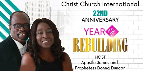 Christ Church International 22nd Anniversary tickets