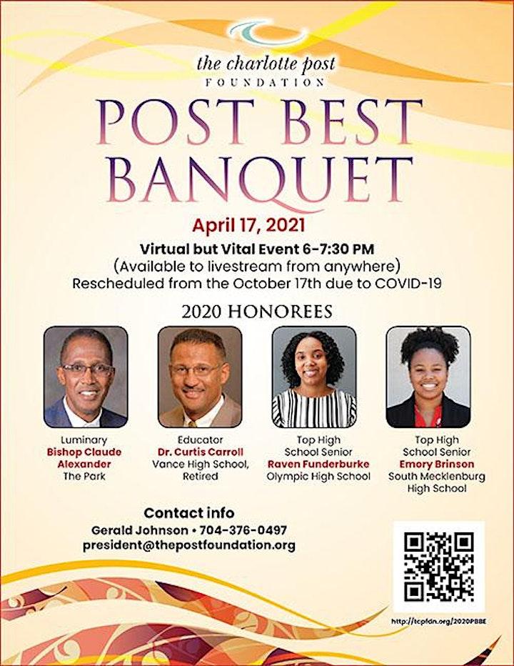 Rescheduled 2020 Post Best Banquet image