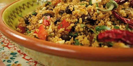 A Taste of Morocco on Your Plate: Vegan Cooking & Wine Pairing Class tickets