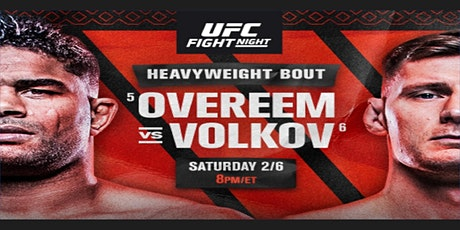 ONLINE-StrEams@!.UFC Fight Night 184 LIVE ON fReE 7 Feb 2021 Tickets
