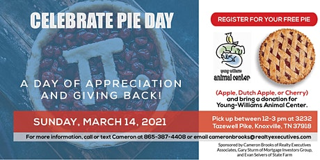 Celebrate Pie Day! A Day of Appreciation and Giving Back! tickets