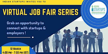 Virtual Job Fair for Startups tickets