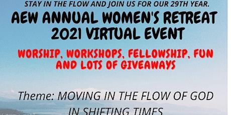 2021 AEW WOMEN'S RETREAT VIRTUAL EVENT tickets
