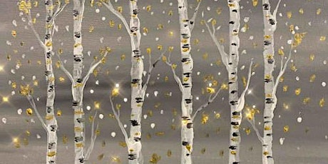 Glam Birches - Virtual Paint Party tickets