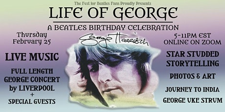 Life of George Harrison: A Beatle's Birthday Celebration tickets
