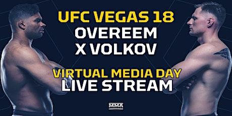 FIGHT@!.UFC Vegas 18 Overeem v Volkov FIGHT LIVE ON 7 Feb 20 tickets