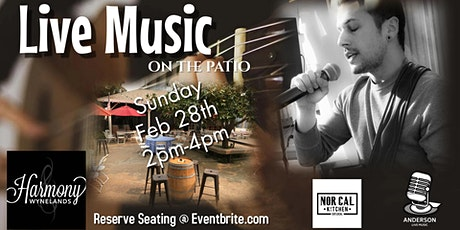 Dustin Heer - Live Music on the Patio tickets