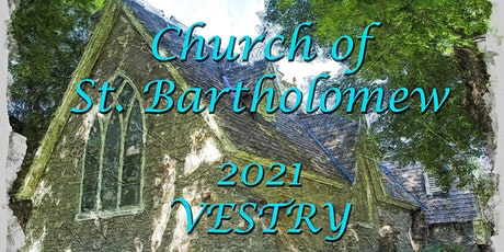 St. Bart's Virtual Vestry, February 28, 2021 tickets