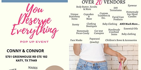 You Deserve Everything Pop Up Event tickets
