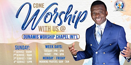 Worship With Us This Sunday tickets