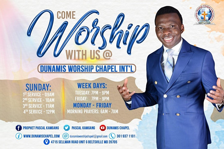 Worship With Us This Sunday image