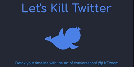 Let's Kill Twitter, chat show with guests Iain Dale and Ria Lina tickets