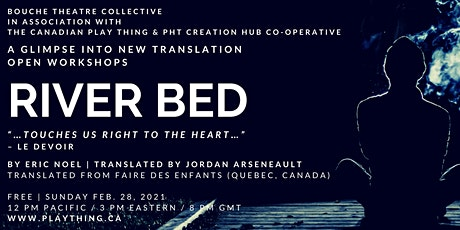 A Glimpse into New Translation: River Bed tickets
