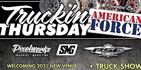 American Force Wheels  Presents 2021 Truckin Thursday tickets