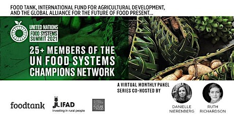 Special Series: 25+ Members of the UN Food Systems Champions Network entradas