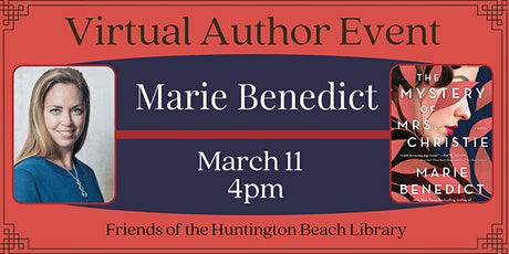 Virtual Author Event with Bestselling Author Marie Benedict tickets