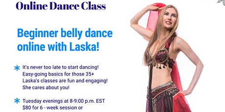 Beginner Belly Dance Class tickets