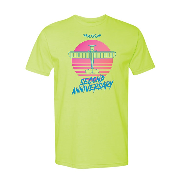 FlyteCo Brewing Co. 2nd Anniversary - 80's STYLE! image