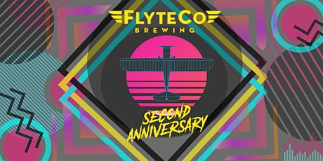 FlyteCo Brewing Co. 2nd Anniversary - 80's STYLE! tickets