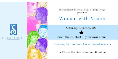 Women with Vision-Live Your Dream Awards & Virtual Fashion Show tickets