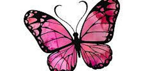 Calming Butterfly Sip & Paint tickets