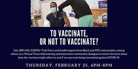 CB9 Vaccine Town Hall tickets
