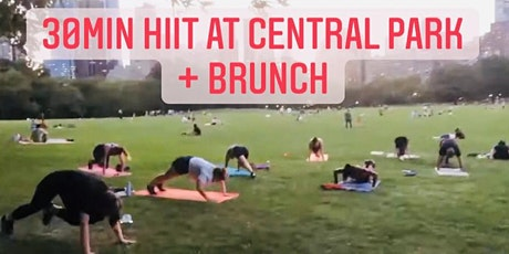 30min HITT at Central Park, and Brunch tickets