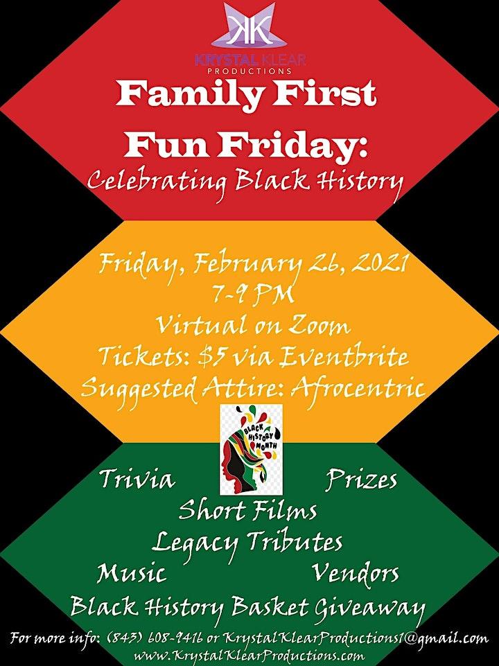 Family First Fun Friday: Celebrating Black History image