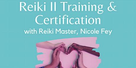 Reiki II Training tickets