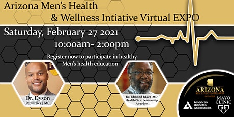 AZ Men's Health & Wellness Initiative  Virtual Expo tickets