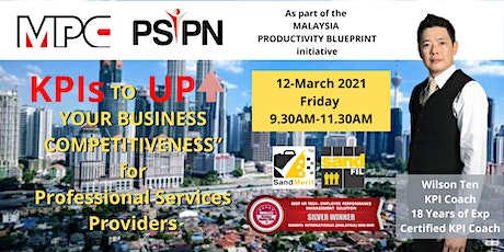 KPI TO UP YOUR BUSINESS COMPETITIVENESS for Professional Services Providers tickets