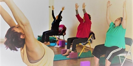 Chair Yoga for vitality and calm tickets