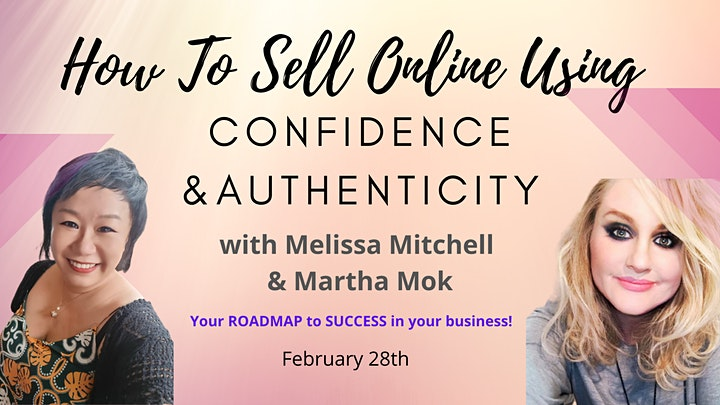How To Sell Online Using Confidence & Authenticity! image
