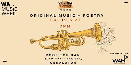 Geraldton Original Music & Poetry Night tickets