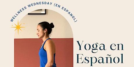 Yoga en Español tickets
