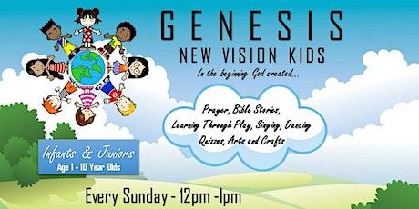 GENESIS - NEW VISION KIDS tickets