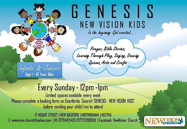 GENESIS - NEW VISION KIDS image