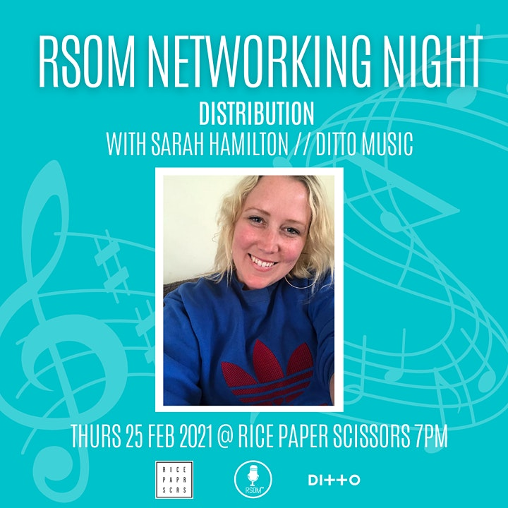 RSOM Networking Night #2 2021 // Distribution with Ditto Music image
