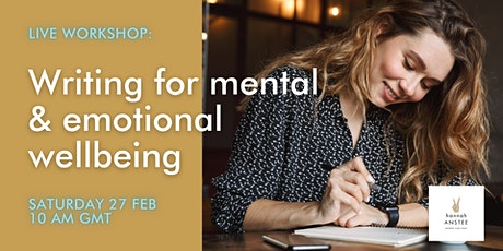 Writing For Emotional & Mental Wellbeing tickets