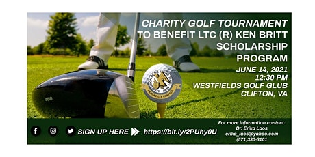 Charity Golf Tournament to benefit the LTC(R) Ken Britt Scholarship Program tickets