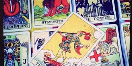 Online Tarot Workshop - The Fool's Journey along the Major Arcana - PT1 tickets