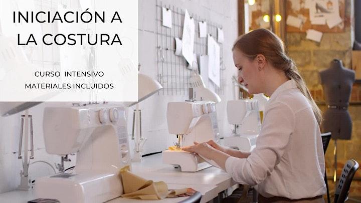Imagen de INICIACIÓN A LA COSTURA. Curso intensivo. Materiales incluidos.