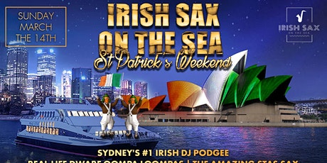 Irish Sax On The Sea - March 14th - St Patrick's Weekend tickets