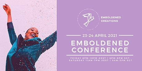 Emboldened Conference 2021 - MYS/Other regions tickets